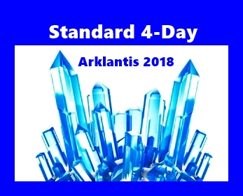 4-Day Standard Ticket Arklantis  2018 Star-Gate